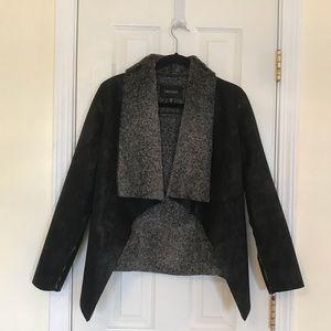 Karen Kane® Faux Suede Short Jacket. Size XS.